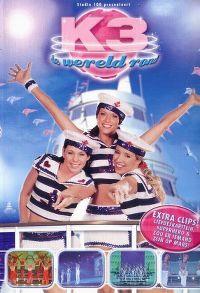 Cover K3 - De wereld rond [DVD]